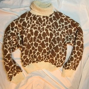 1990s vintage BABO handloomed chunky sweater